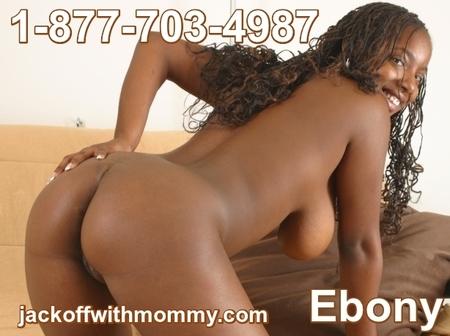jack off with mommy ebony